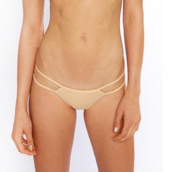 Frankie's Bikinis Other - NWOT Frankie's Bikinis Oceanside Bottom Braid Trim